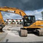 Case CX210B four